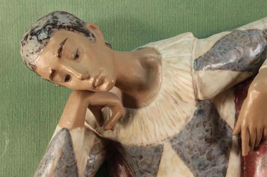 Lot 357: Mounted Lladro Harlequin Wall Plaque