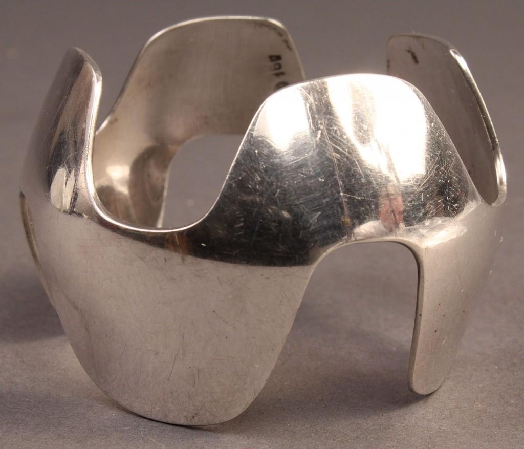 Lot 370: Georg Jensen silver bracelet