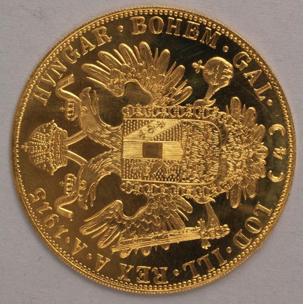 Lot 416: Austrian Four Ducat Coin