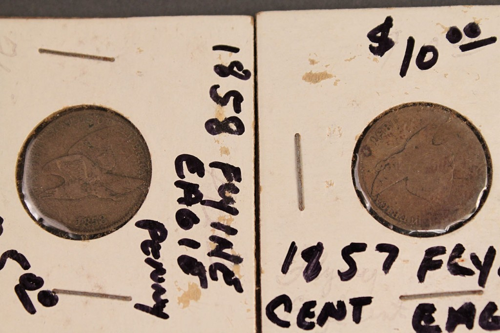 Lot 425: Lot of 739 US Pennies (1857 – 1958)