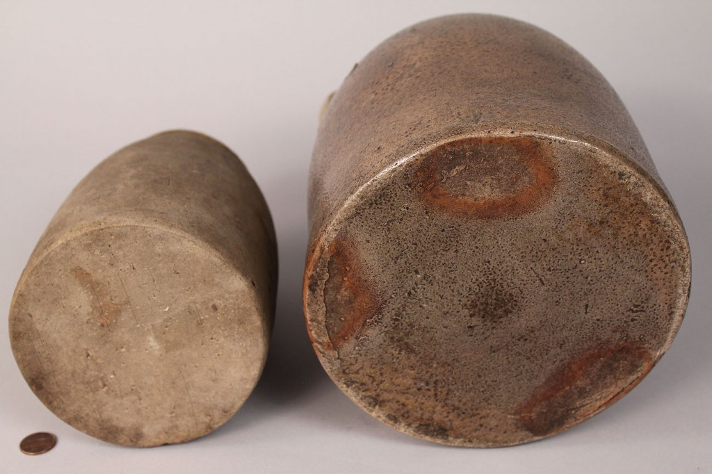 Lot 431: Lot of 2 Stoneware Pottery Items, Southern