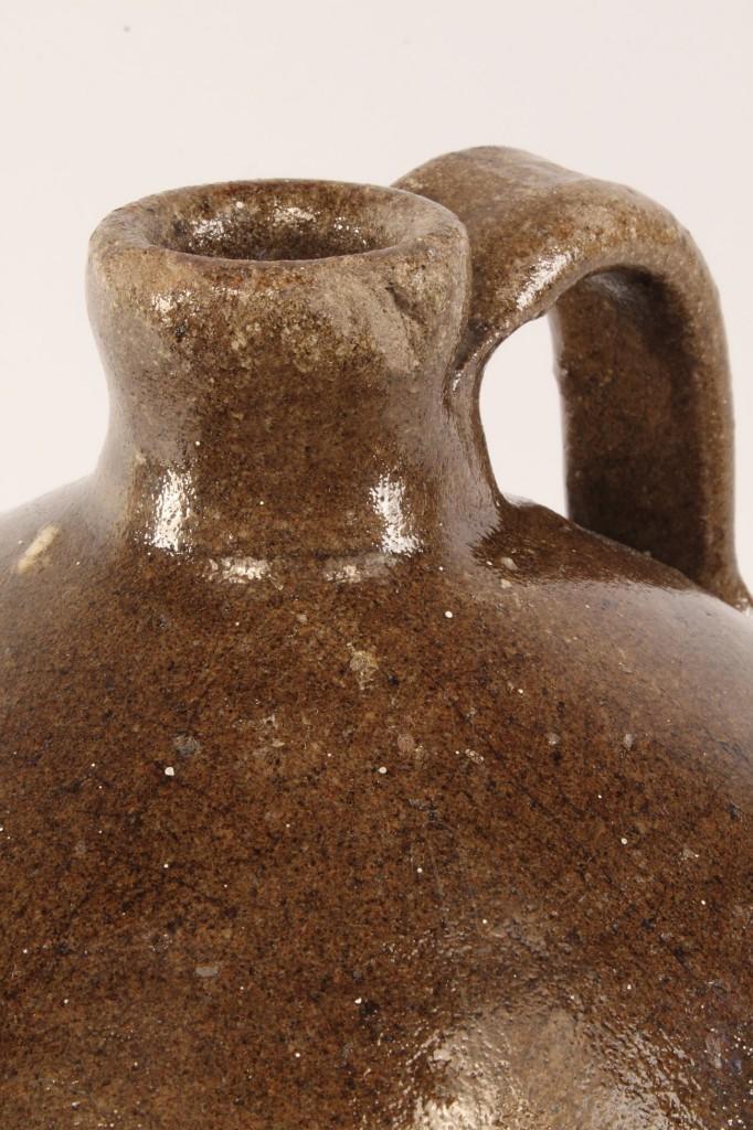 Lot 432: NC Alkaline Glazed Pottery Jug