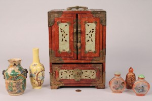 Lot 436: Assorted Asian Decorative Items, 6 pcs