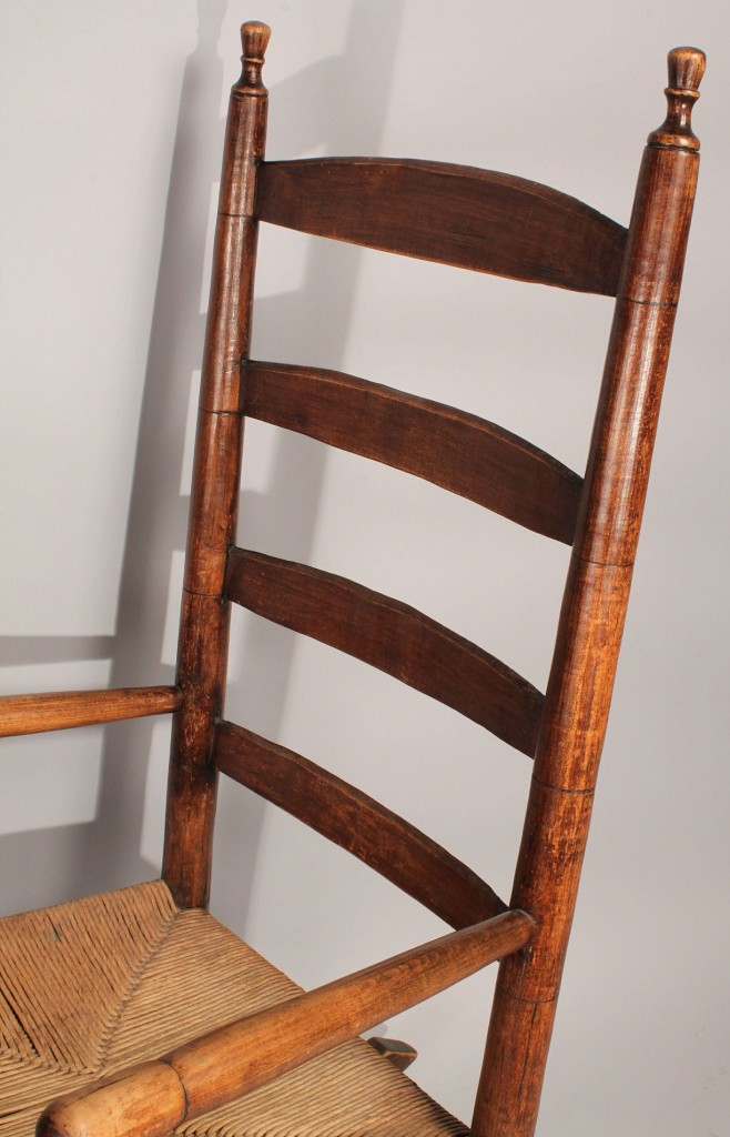 Lot 449: 2 Rocking chairs, Shaker and Tennessee