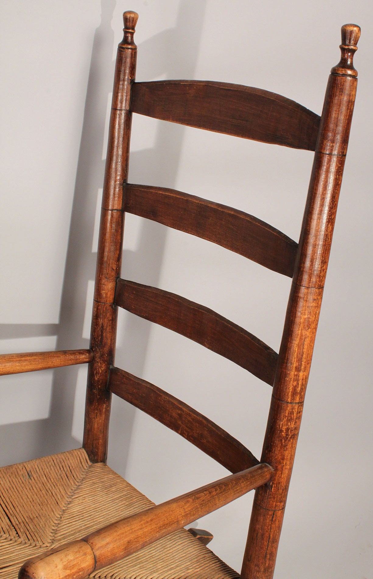 Lot 449 2 Rocking chairs Shaker and Tennessee