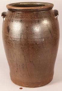 Lot 45: Large Stoneware Jar, attrib. Buncombe Co., NC
