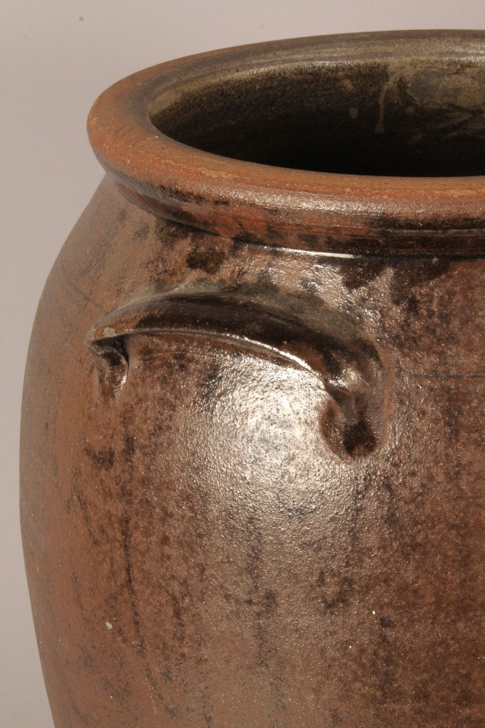 Lot 45: Large Stoneware Jar, attrib. Buncombe Co., NC