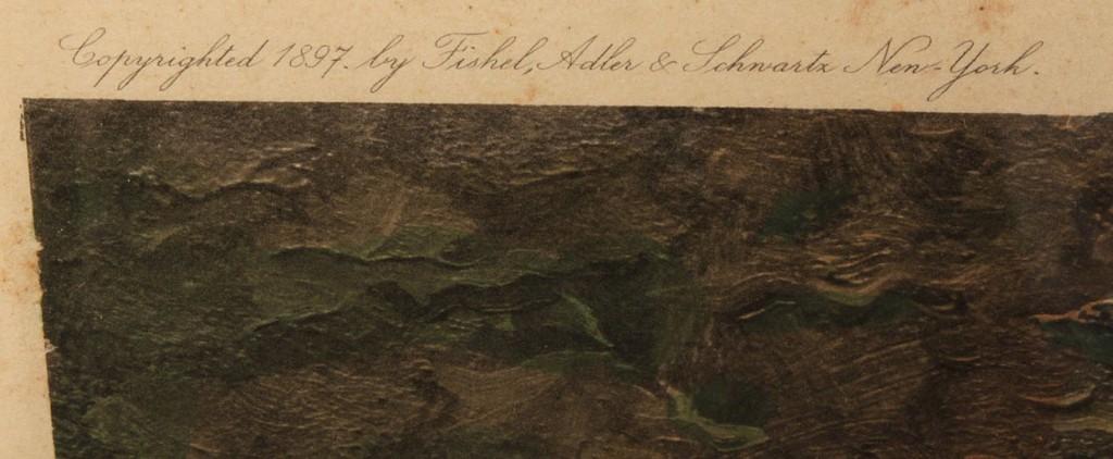 Lot 468: Lot of 2 engravings incl. Geo Washington