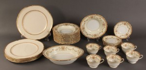 Lot 500: Lot of Assorted Porcelain Dinnerware, 111 pcs