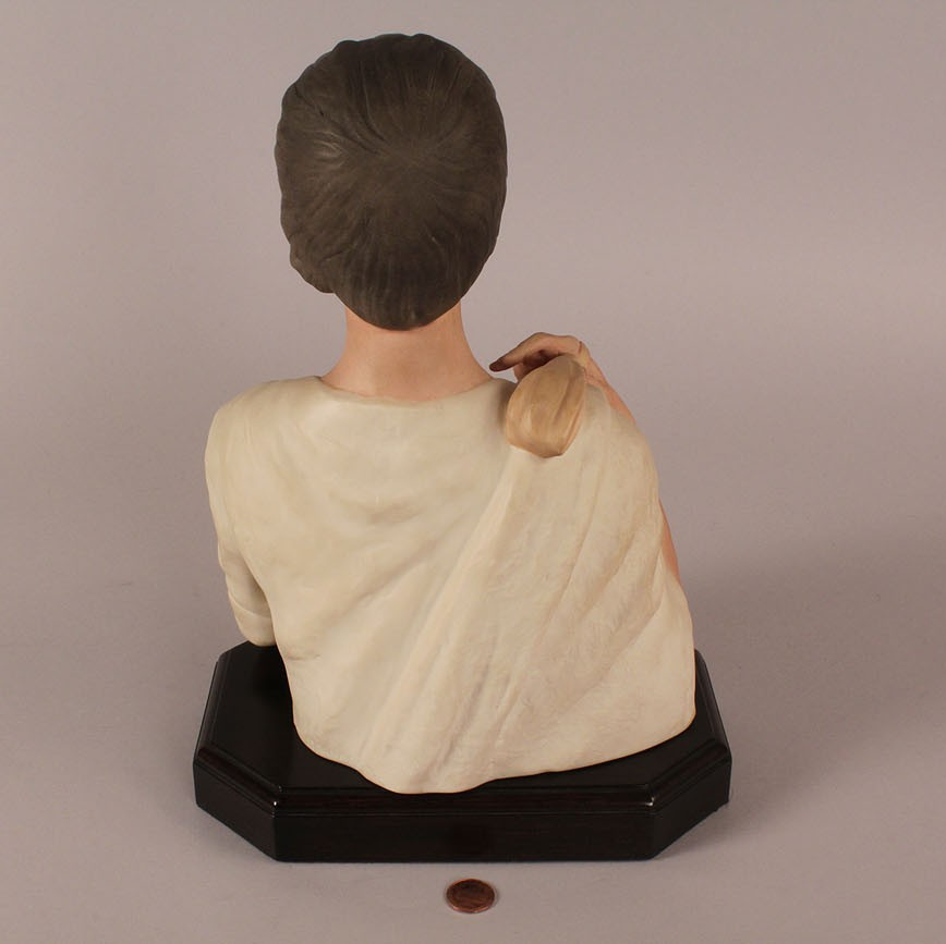 Lot 515: Lazlo Ispanky porcelain figure of David