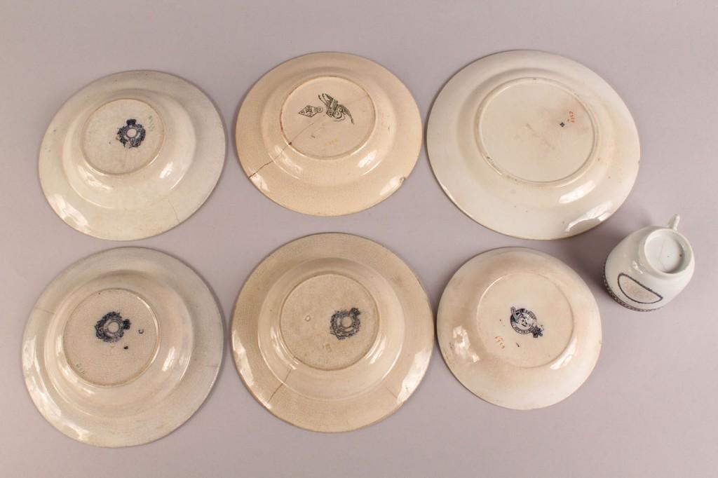 Lot 516: Assembled Lot of Porcelain, 10 pieces
