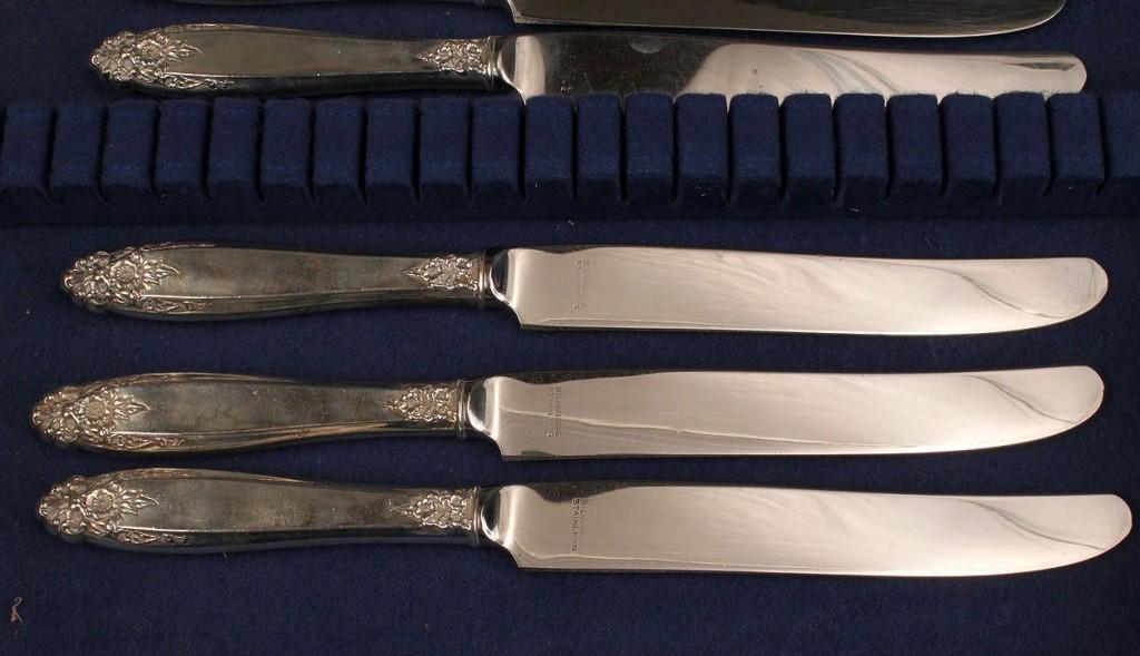 Lot 534: International Prelude sterling flatware, 45 pcs.