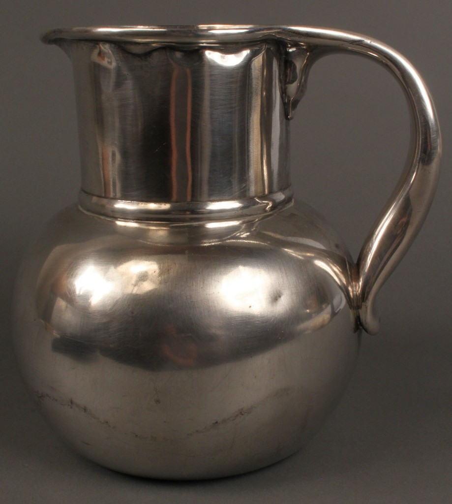 Lot 541: Whiting sterling silver water pitcher