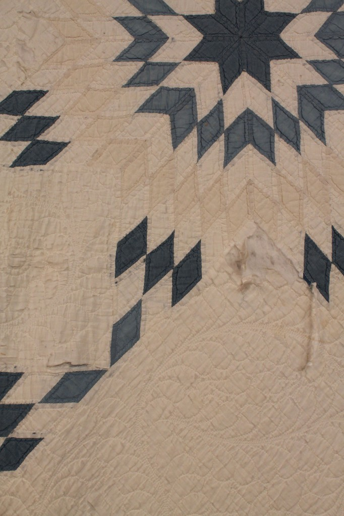 Lot 571: Lot of 2  Blue and White Quilts