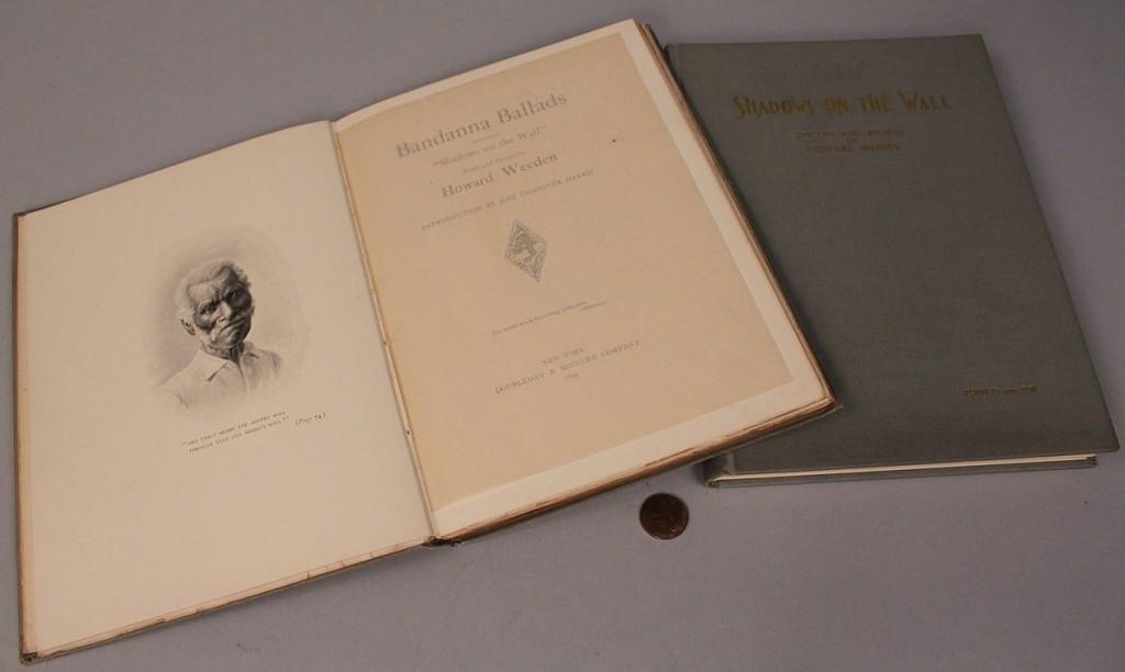 Lot 577: Lot of 2 Howard Weeden books