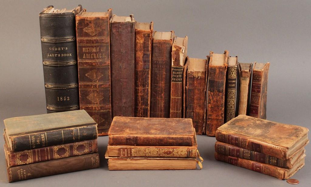 Lot 578: Assembled Lot of 18th & 19th c. Books (20)