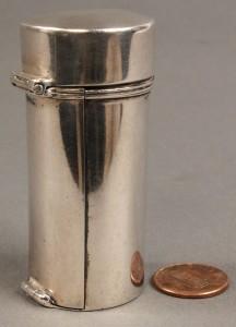 Lot 57: Silver Nutmeg Grater