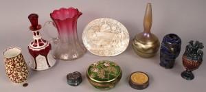 Lot 593: Assembled Lot of 10 Decorative Items