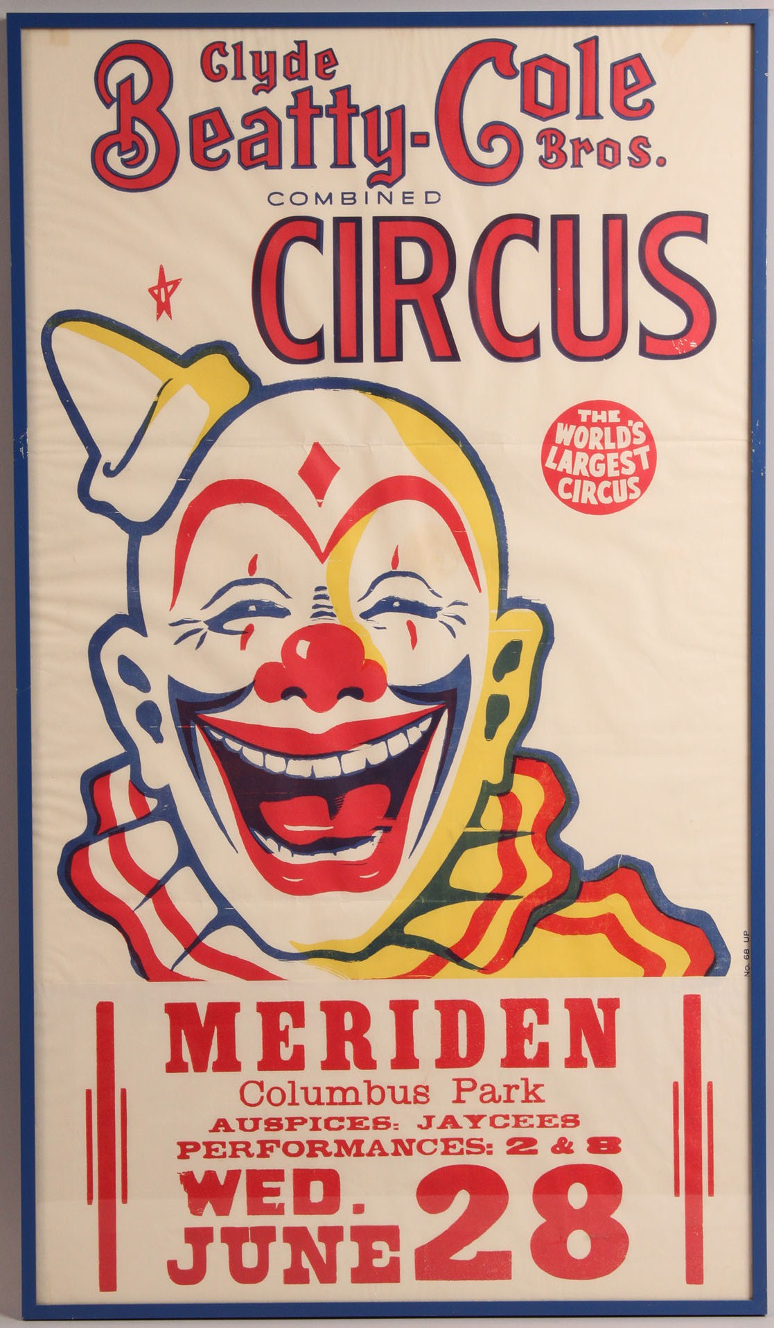 Lot 602 Lot Of 8 Circus Amp Western Posters