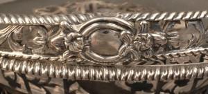Lot 65: Georgian silver cake basket, Edward Aldridge - Image 10