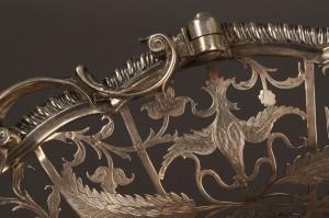 Lot 65: Georgian silver cake basket, Edward Aldridge - Image 2