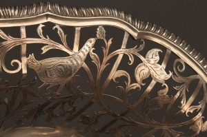 Lot 65: Georgian silver cake basket, Edward Aldridge - Image 3