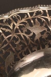 Lot 65: Georgian silver cake basket, Edward Aldridge - Image 4