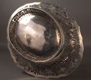 Lot 65: Georgian silver cake basket, Edward Aldridge - Image 6