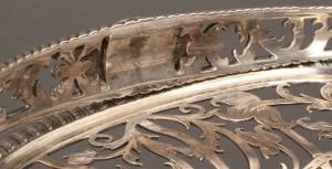 Lot 65: Georgian silver cake basket, Edward Aldridge - Image 7