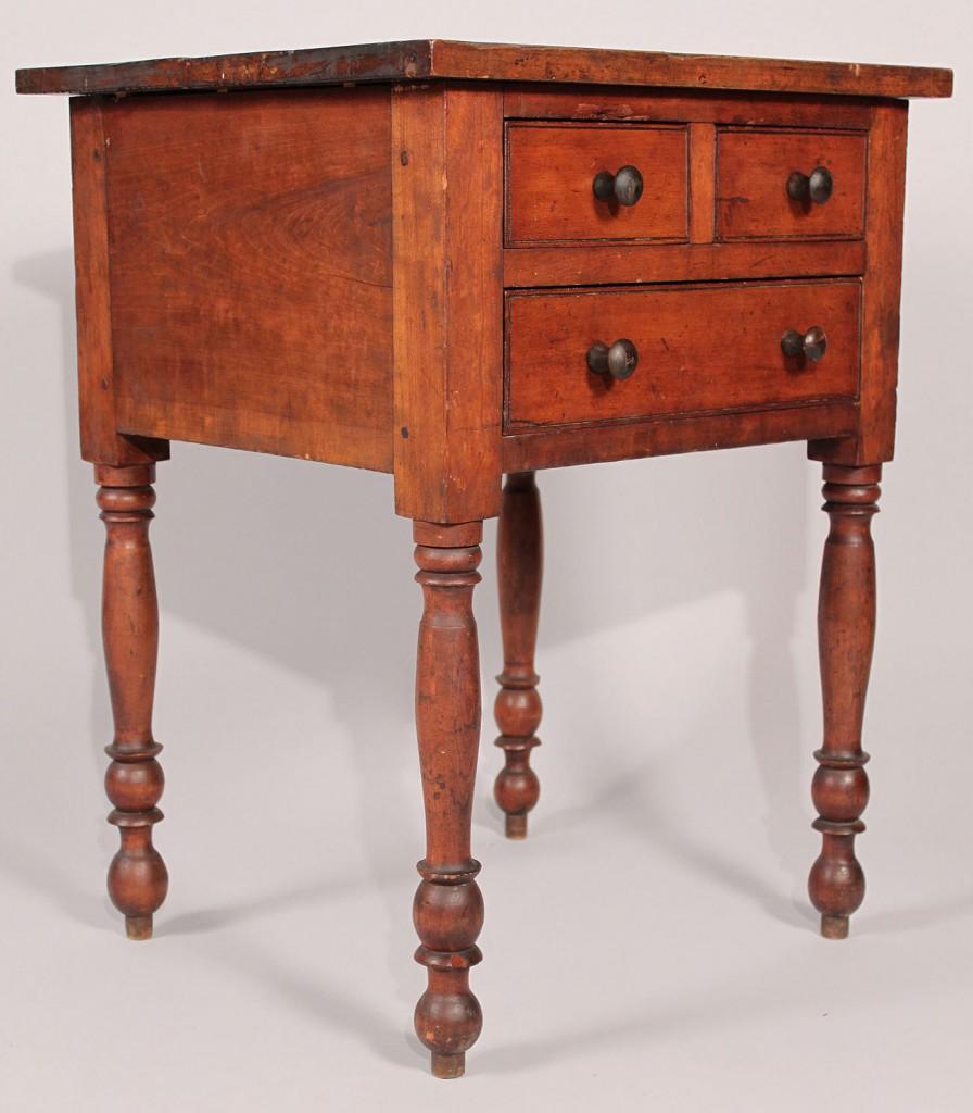 Kentucky cherry three drawer stand