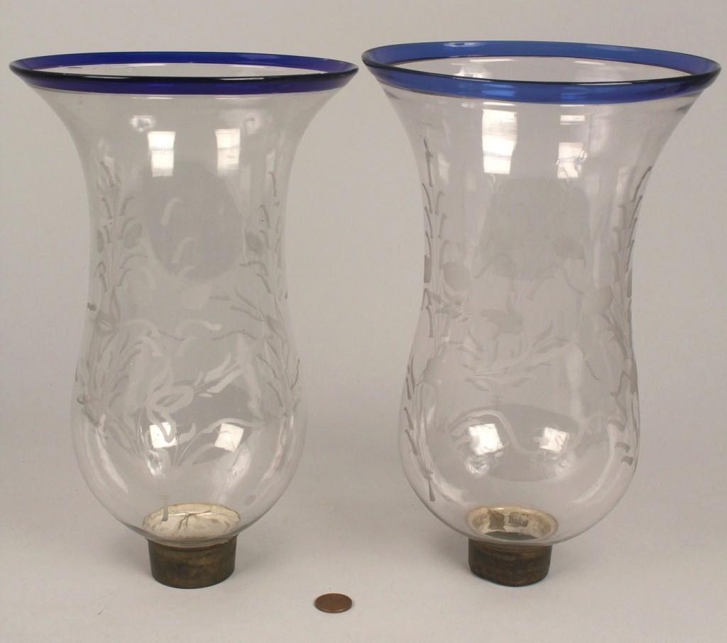 Lot 113: 2 Pairs of Hurricane shades campana & amethyst