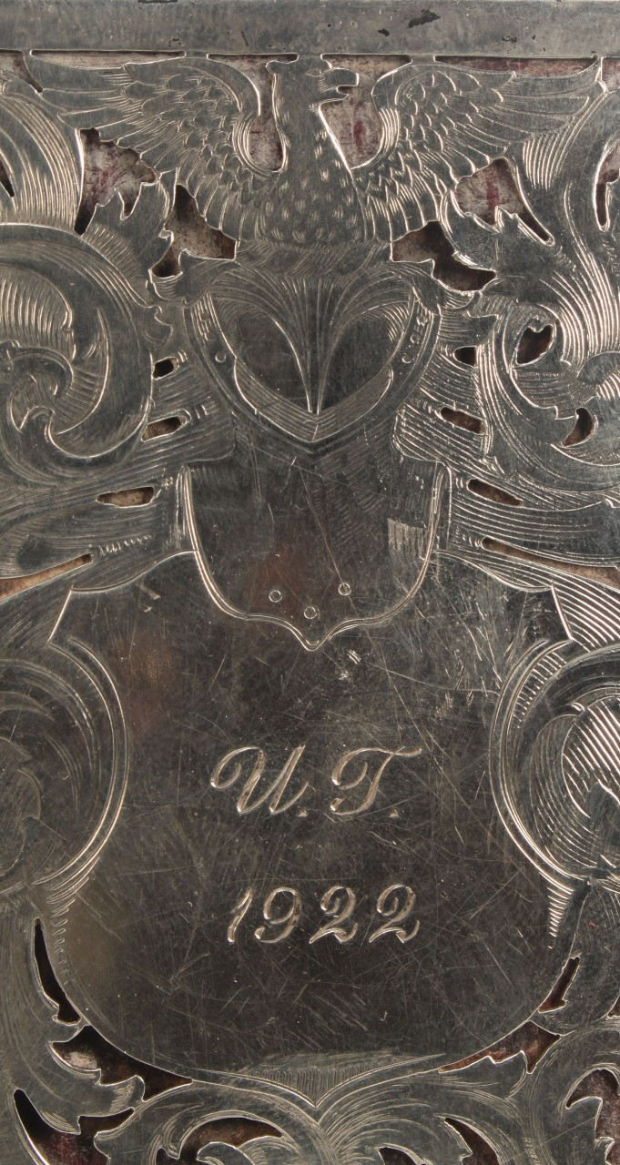 Lot 134: Sterling Silver Case, University of Tennessee