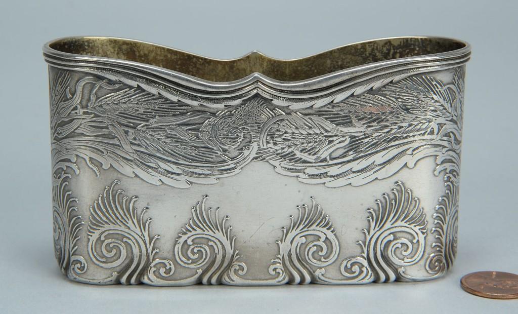 Lot 147: Tiffany sterling letter holder, Columbian Expositi