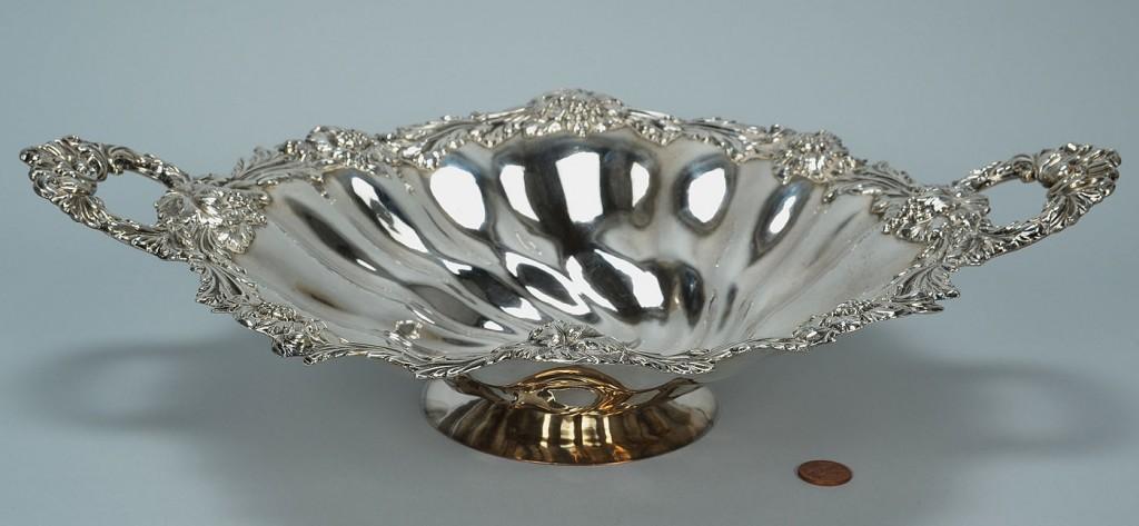 Lot 154: Matthew Boulton Old Sheffield pedestal bowl