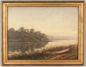Lot 177: Thomas Campbell Tennessee River Scene