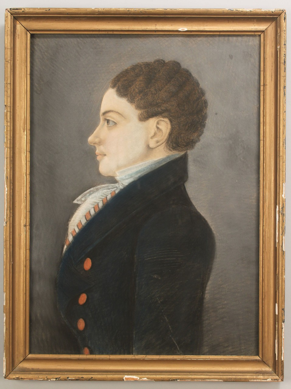 Lot 190: Southern Pair of Portraits, possibly Louisiana