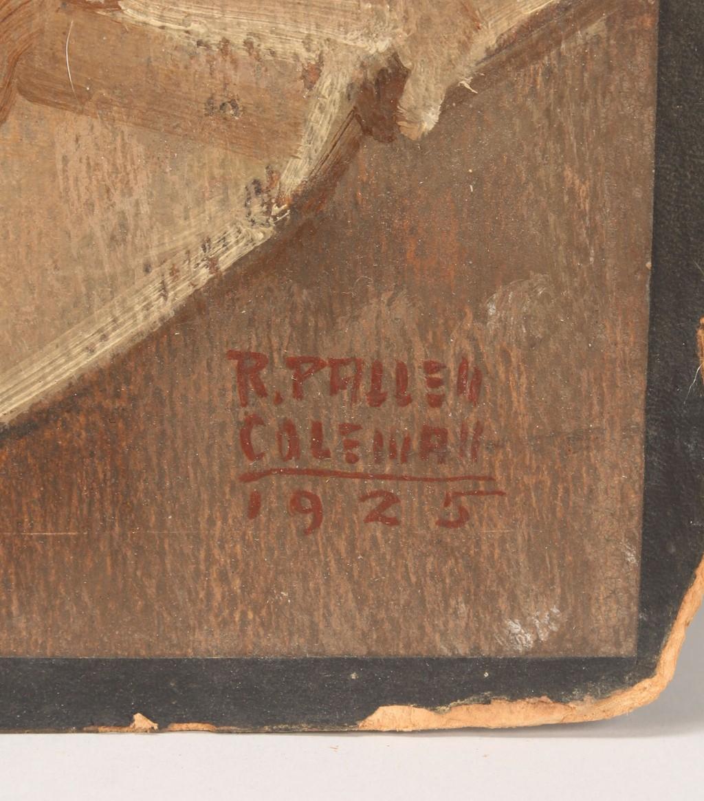 Lot 197: Ralph Pallen Coleman Cruise Ship Illustration