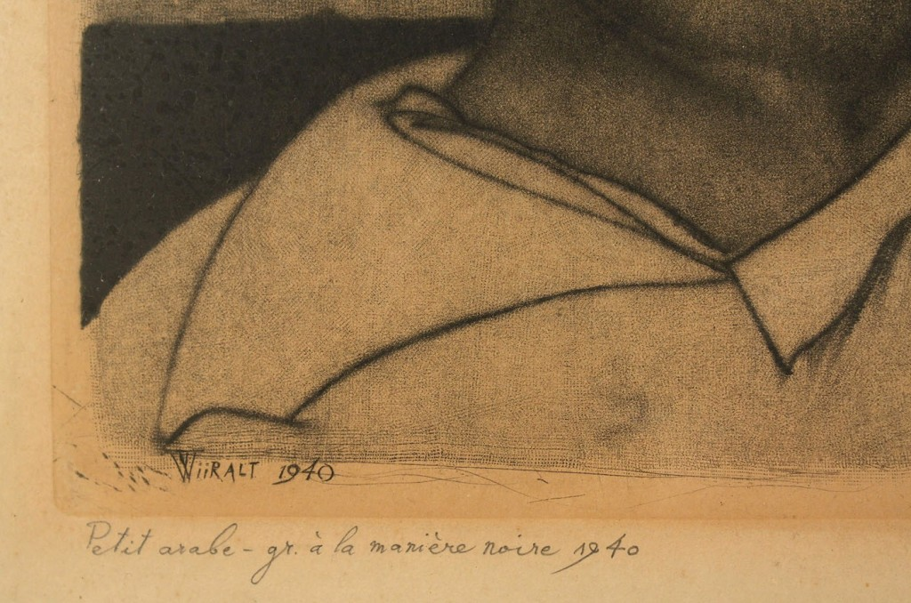 Lot 205: Eduard Wiiralt Etching