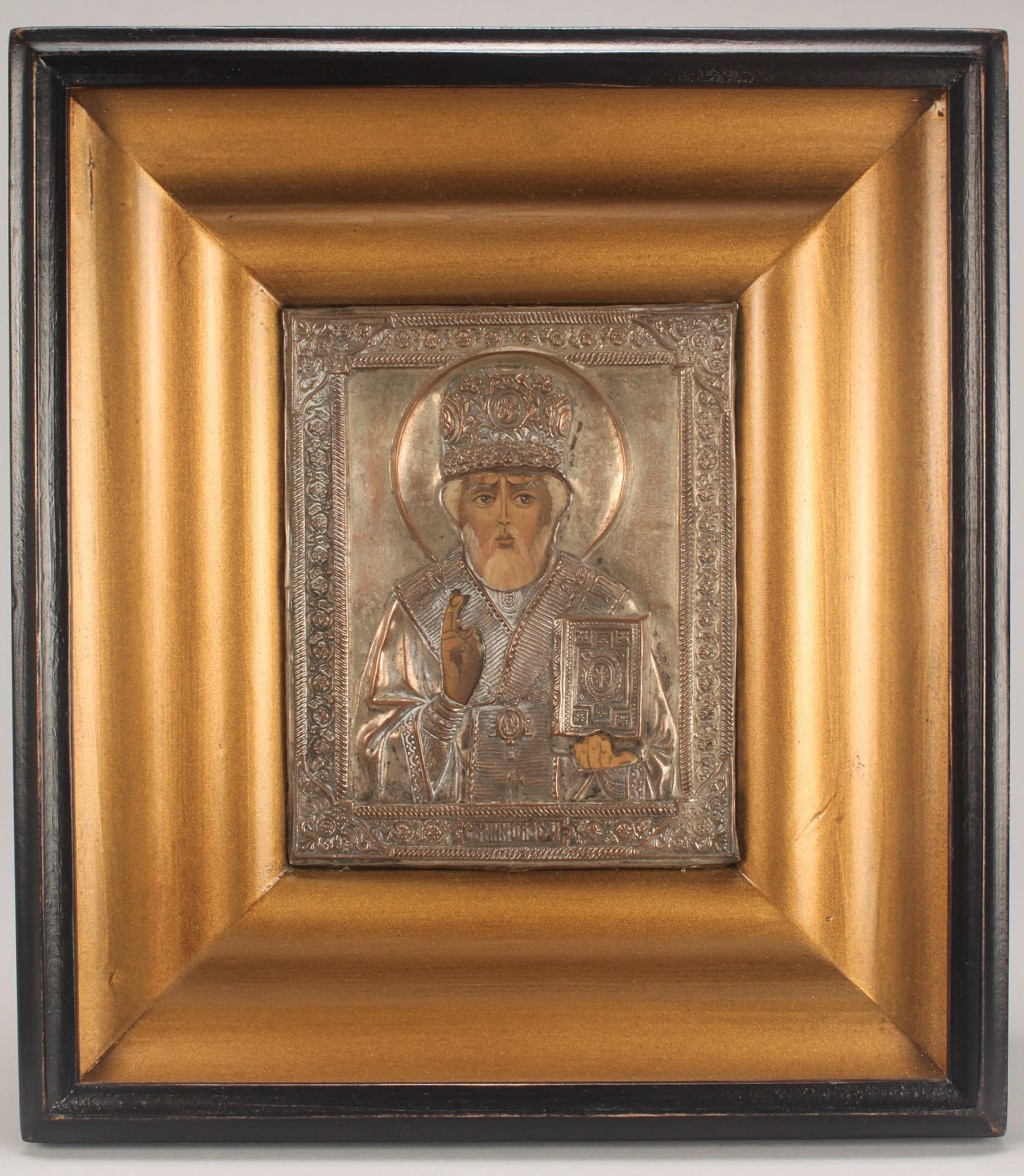 Lot 207: Framed Russian Icon