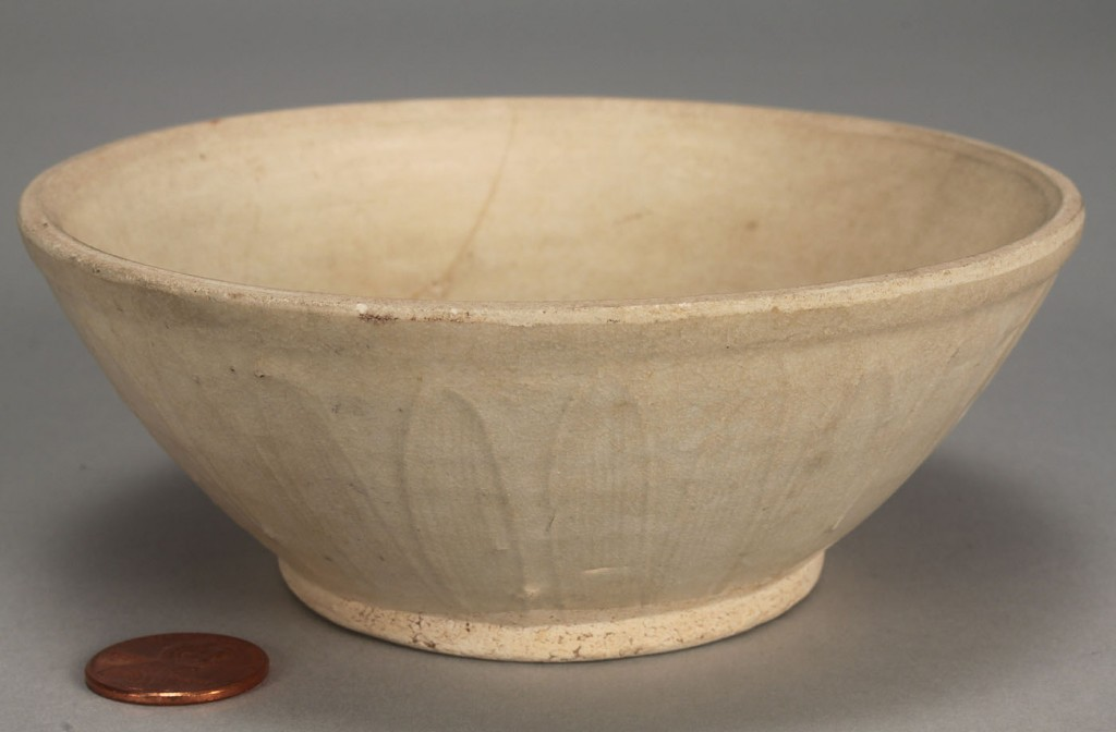 Lot 270: Chinese Ding Ware Bowl