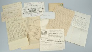 Lot 275: Hicks Family of Nashville archive inc. maps
