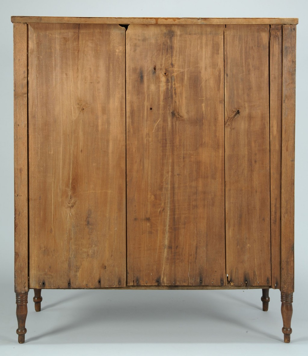 Lot 292: Southern Sheraton Inlaid Chest, poss. Kentucky