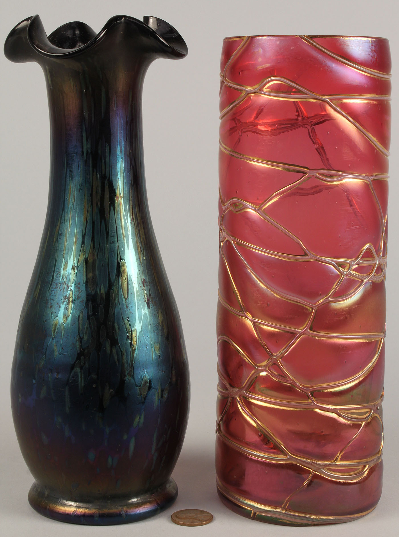 321 2 art glass vases loetz kralik lot 321 2 art glass vases loetz kralik reviewsmspy