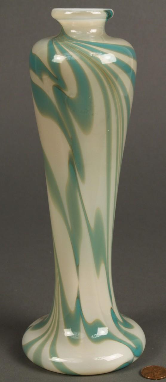 Lot 326: Richard Jolley Art Glass Vase