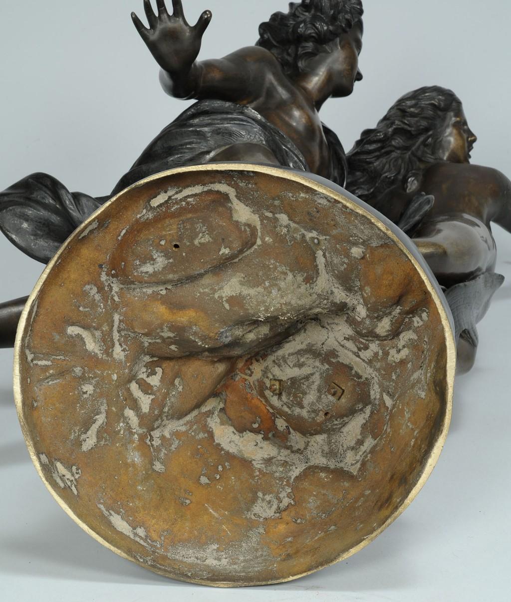 Lot 333: Bronze sculpture of Apollo & Daphne, after Bernini