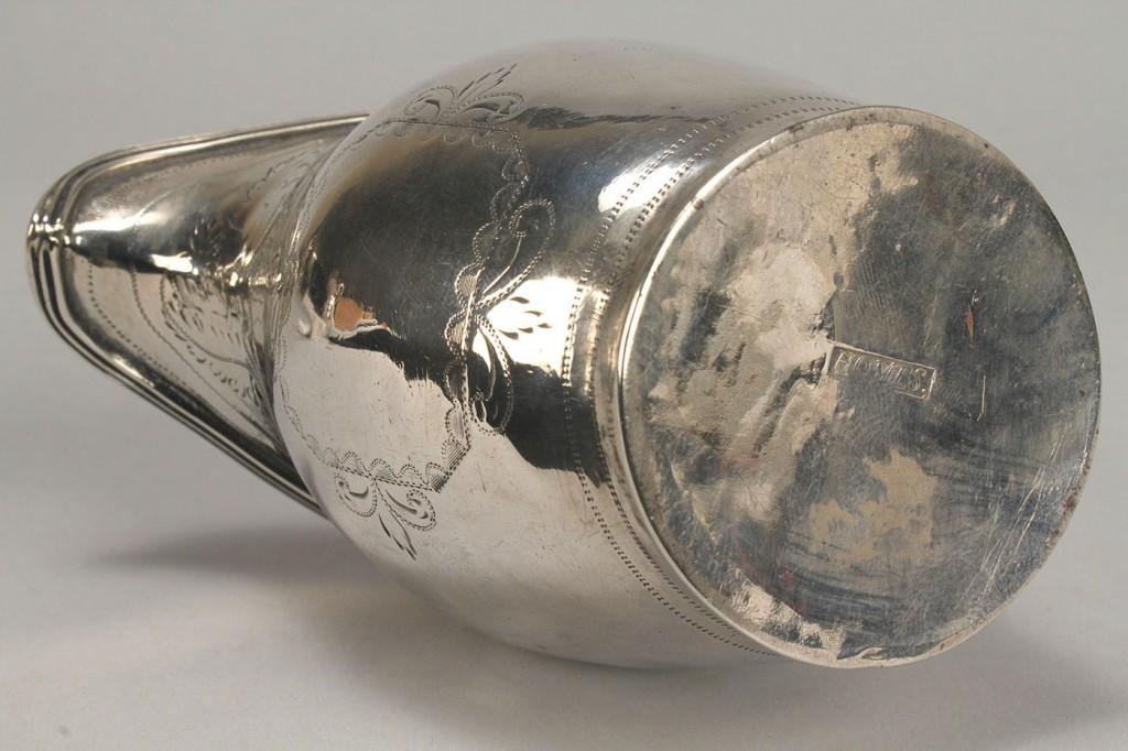 Lot 360: W. Homes Federal Silver Cream Jug
