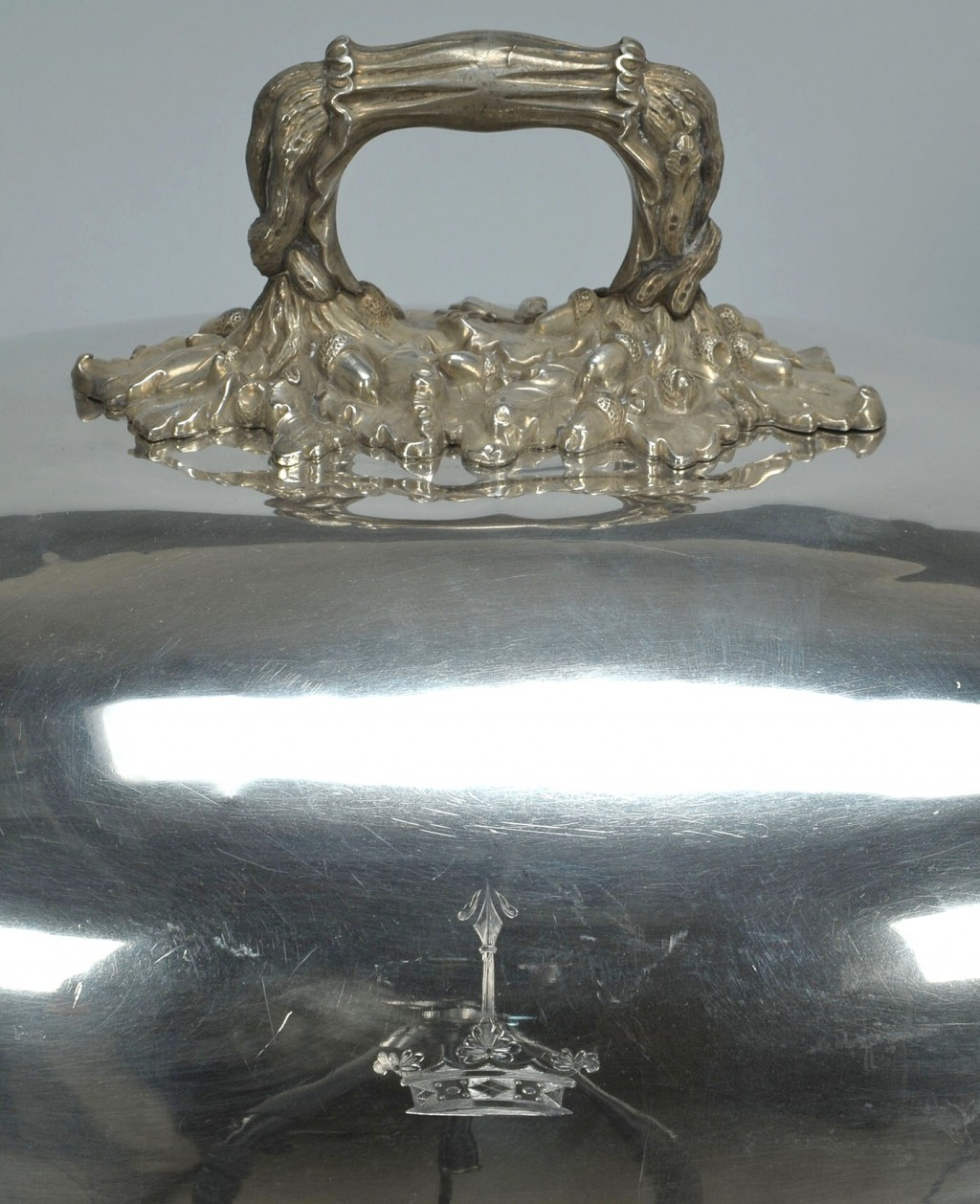 Lot 379: Set of four Old Sheffield meat cover domes
