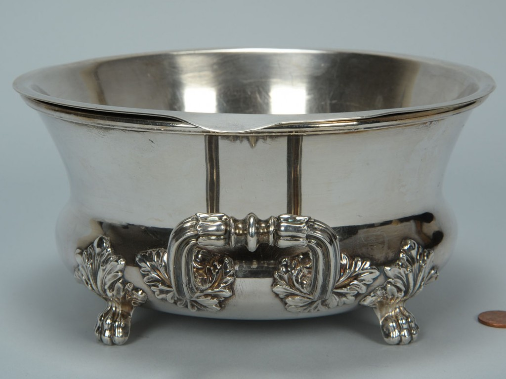 Lot 384: Matthew Boulton Old Sheffield Butter Tub