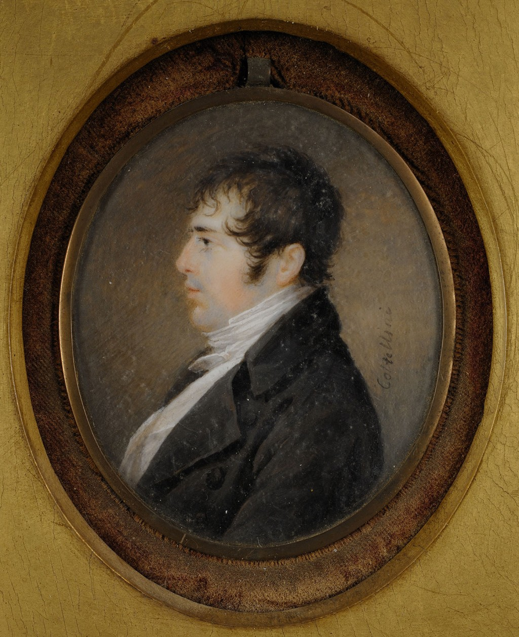 Lot 39: Constantina Coltellini, portrait of Richard Seton