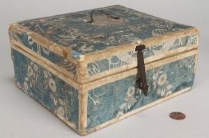 Lot 400: Wallpaper jewelry box